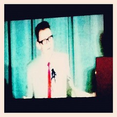 Newbery winner Jack Gantos (sorry about the crappy quality)