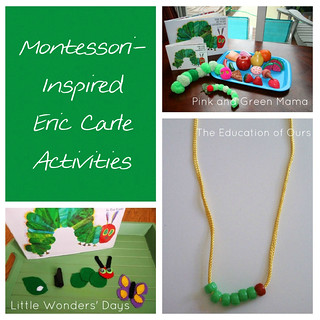 Montessori-Inspired Eric Carle Activities Roundup