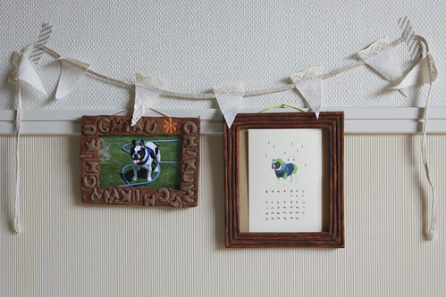French Bulldog Chikuwa in frames