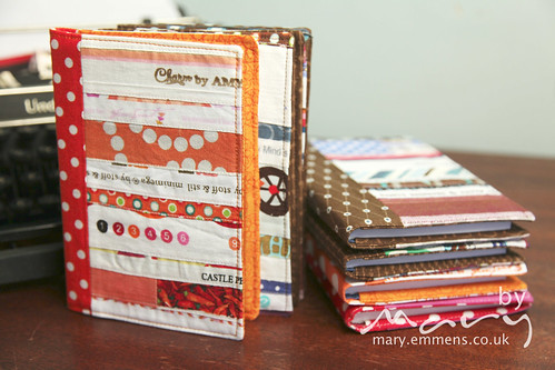 Selvedge notebook/journal covers