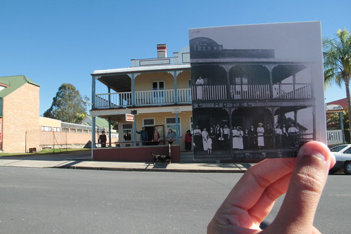 The Royal Hotel, Bowraville c1908