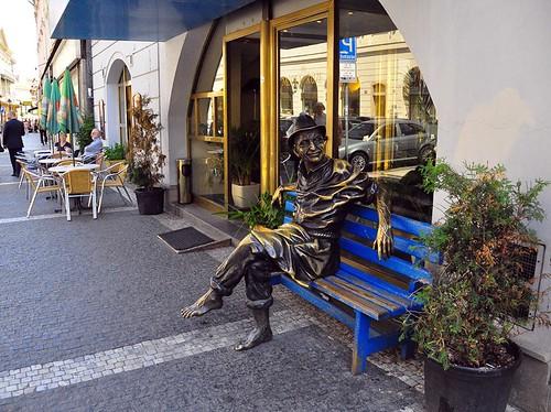 Prague Street Sculpture -- Old Town