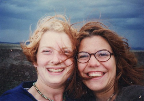 Ashley and Susan in Taos 1996