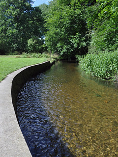 River Wandle in Morden Hall Park