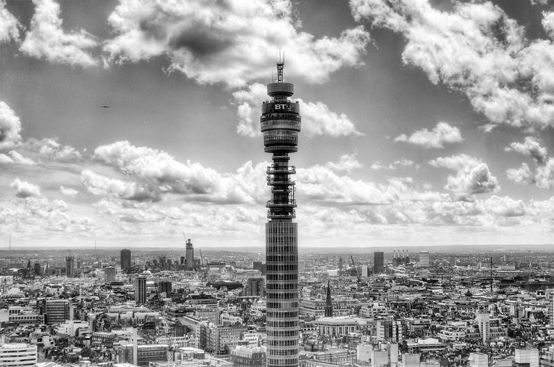 The BT Telecom Tower