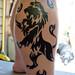 The Lion Tattoo
