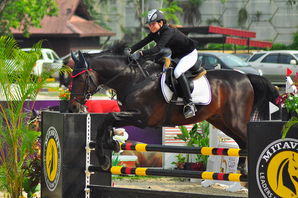 Malaysia open 2012 Show Jumping competition ...
