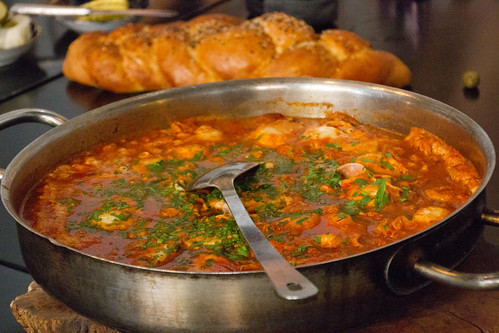 Shakshouka for breakfast @ Cordelia (chef Nir Zook), Jaffa, Israel