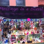 Message in a bottle - teacher presents
