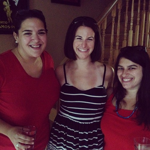 Fourth of July fun with Lauren and Emily!