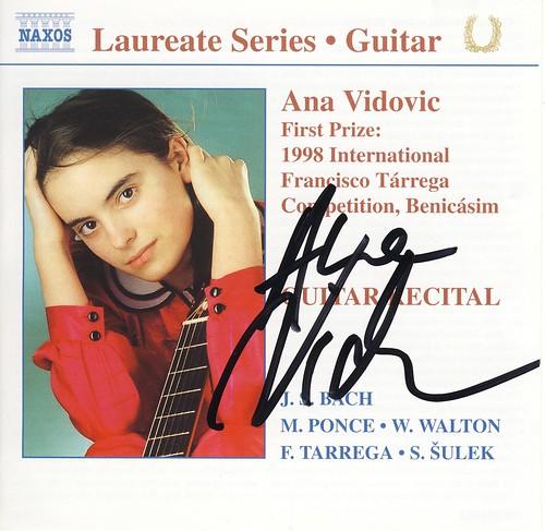 アナ・ヴィドヴィッチ CD表紙 by Poran111