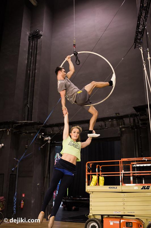 Aerial Hoop demo
