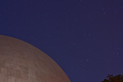arizona moon museum stars 50mm long exposure observatory telescope flagstaff dome saturn lowell
