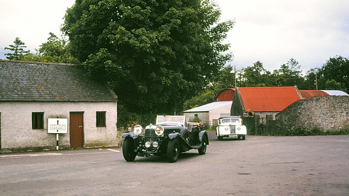 Cashel Ireland 1978 - classic car rally