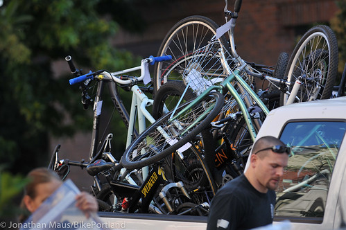 Stolen bikes at drug bust in Old Town-9