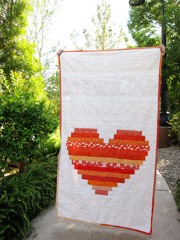 orange crush quilt