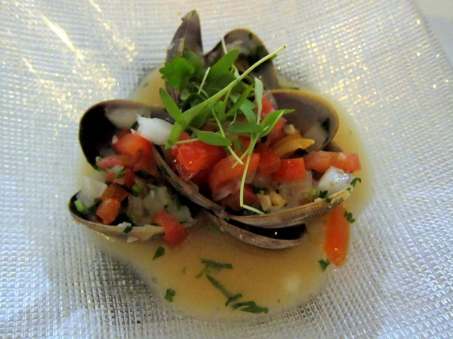pampano smoked clams, tequlia sauce | Flickr - Photo Sharing!