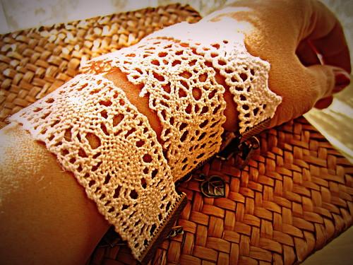 lace bracelets by Bohemian Hooks