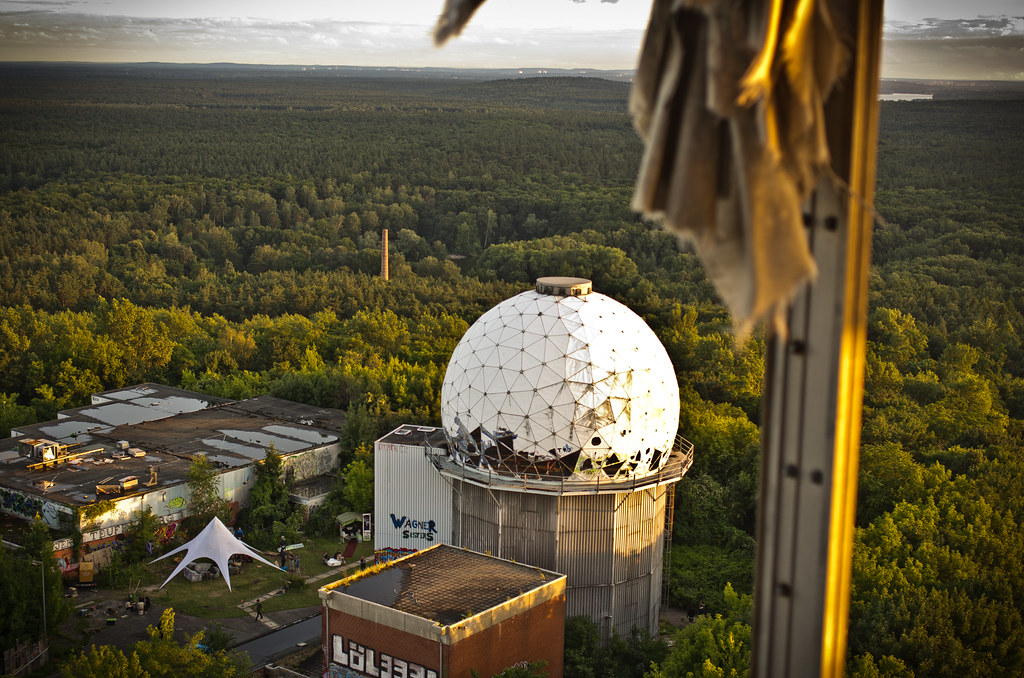 Partylocation Teufelsberg