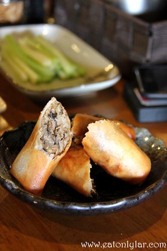 Harumaki (pork spring rolls), Ikuzo Ramen