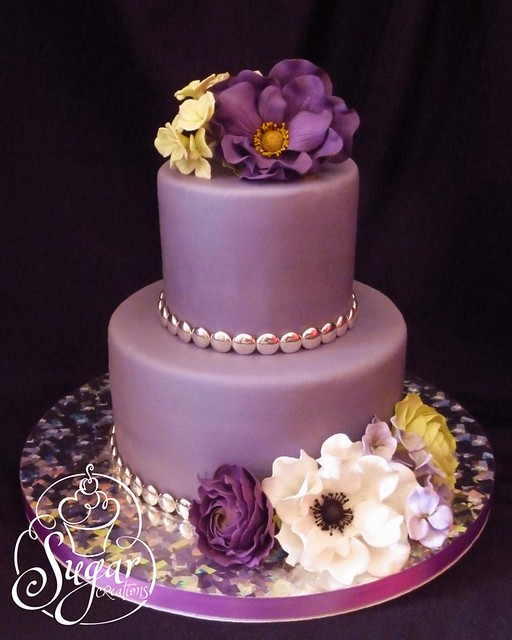 Images Of Purple Birthday Cake : purple birthday cake Flickr - Photo Sharing!