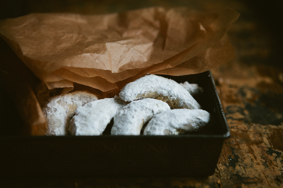 Печенье лунное рецепт