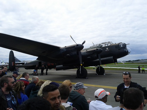 Farnborough International Airshow 2012 - Lancaster