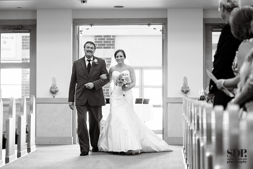 Holy Trinity Catholic Church Overland Park wedding