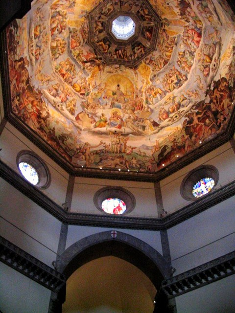 inside the duomo, florence, italy