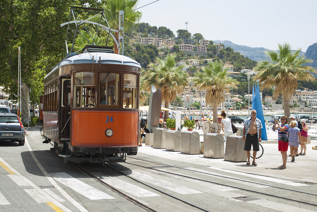 "Tram in Port de Soller - Mallorca ""12"