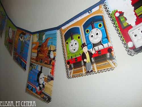 thomas the train bunting paper 2