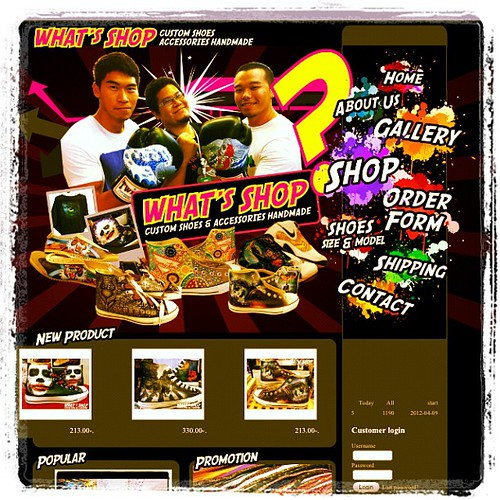 Now! Opening : www.whats-shop.com#custom #shoes #Thai #Thailand #Bangkok #MBK #WHATsSHOP #sneaker #paint #art #handmade #kicks #Allstar #converse #chucks #chucktaylor #website #open#now