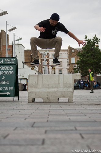 Chris Morgan FS 180 Ollie