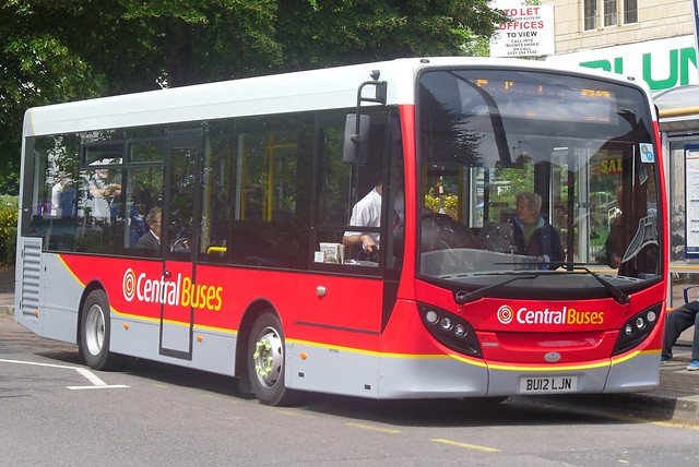 Central Buses Alexander Dennis Enviro200 (BU12 LJN)