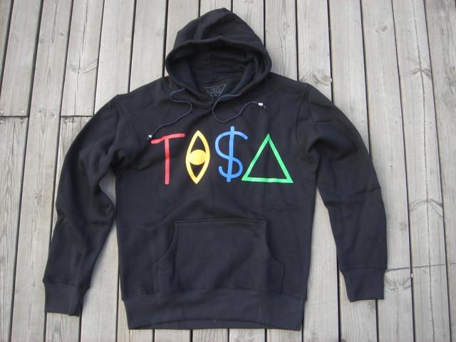 BLACK TISA HOODIES | black tisa hoodie