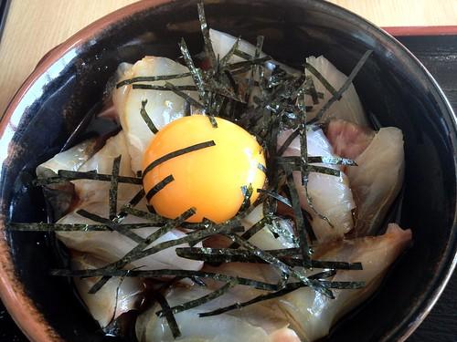 鯛丼@やま弥