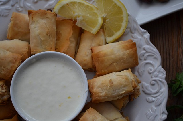 sweet appetizers with lemon