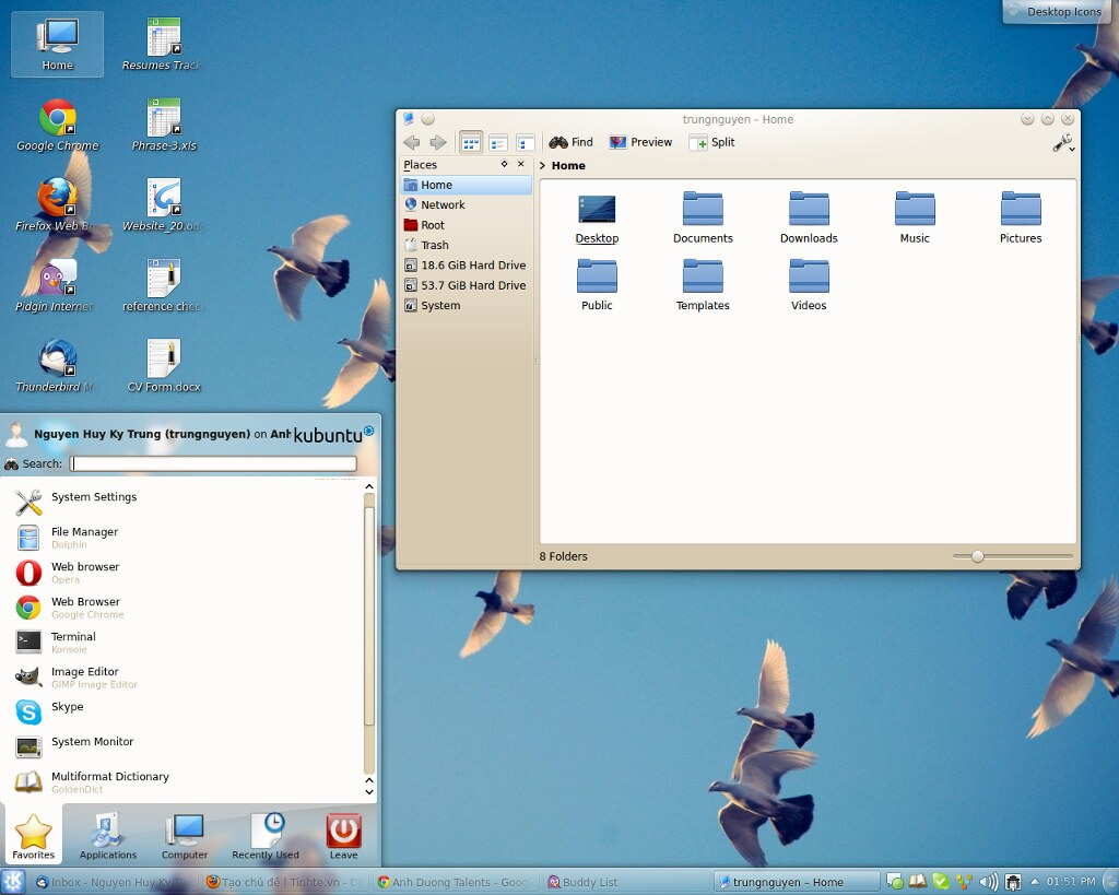 KDE-Windows