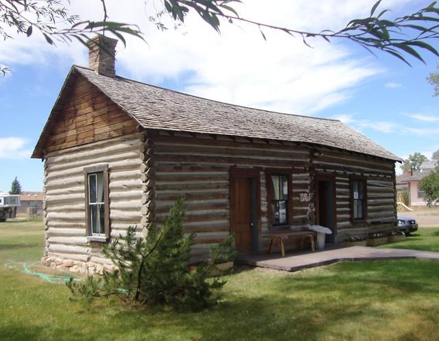 Log cabin randolph utah flickr photo sharing for Utah log cabins