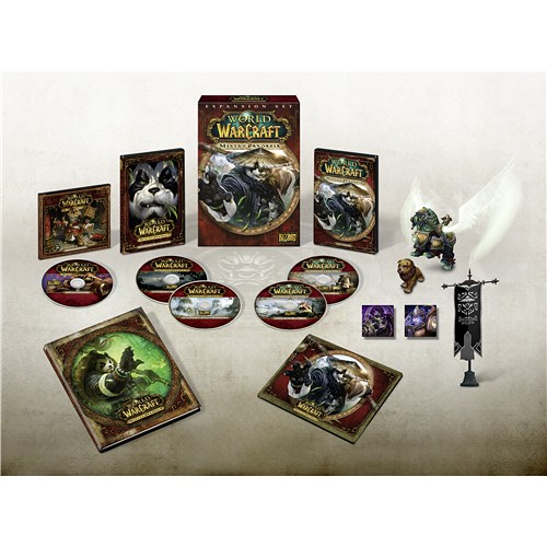 Mists of Pandaria Release Date Announced Alongside Collector's Edition