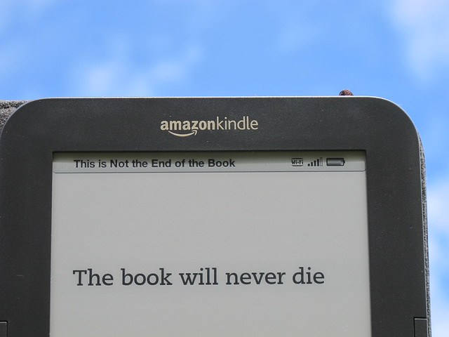 the book will never die