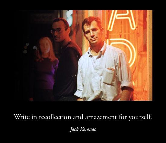 Kerouac-Amazement