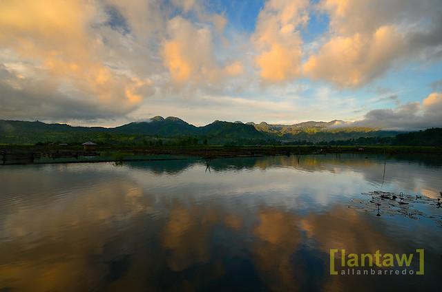 Sunrise Reflections at Lake Seloton