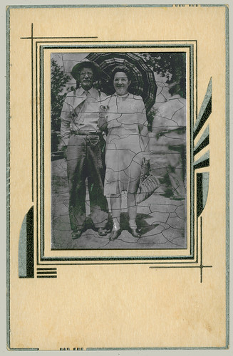 Tintype Couple