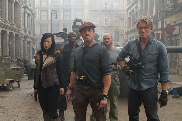 #Expendables2, Behind The Scenes