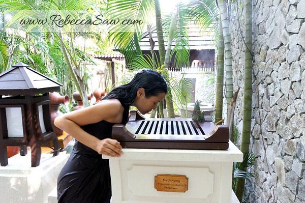 spa village pangkor laut resort - rebecca saw - detoxifying