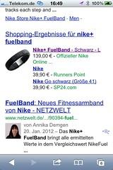 Nike+ FuelBand in Deutschland
