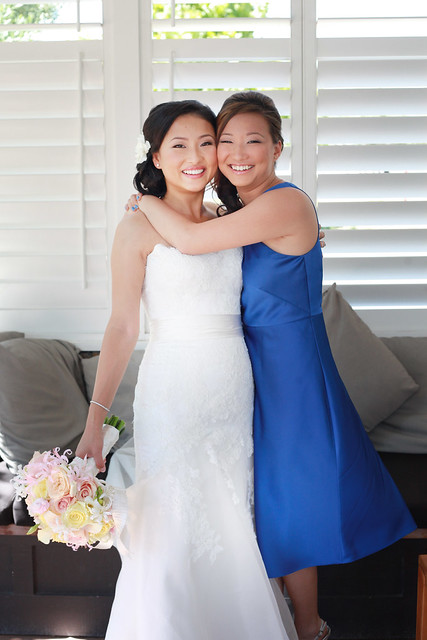 Mei and a Bridesmaid