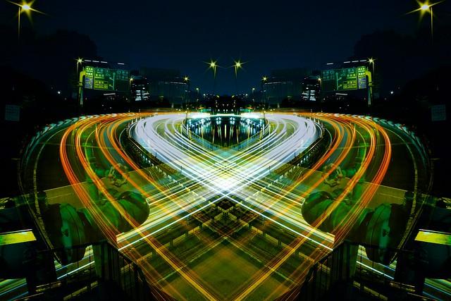 graffiti of speed / mirror of symmetry