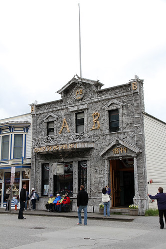 Skagway - Obligatory Driftwood Building Photo